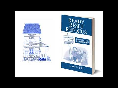 Book Trailer for Author Mark Albert / READY RESET REFOCUS: PREPARING FOR RETIREMENT / Book Trailer