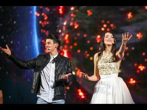 Eurovision 2015 San Marino(Winner)Michele Perniola & Anita Simoncini  Chain of Lights