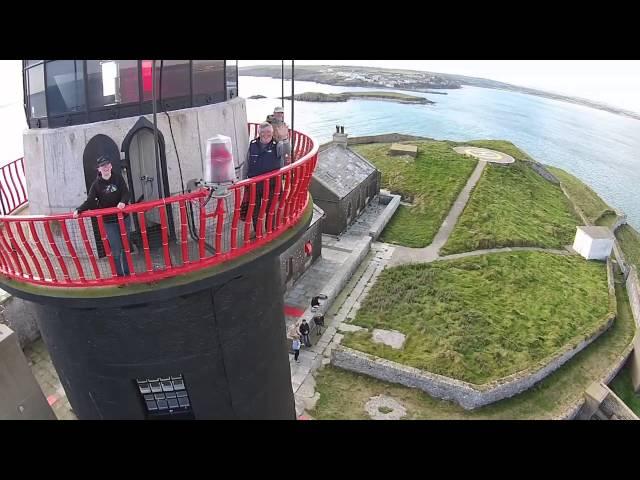 Ballycotton Lighthouse - Drone video