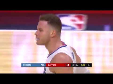 LA Clippers vs Nuggets Full Highlights 1-17-18