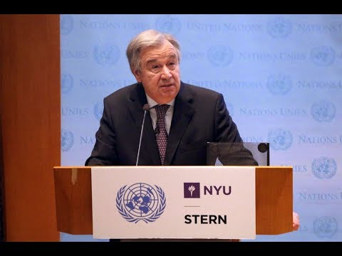UN Chief António Guterres Calls for Climate Action