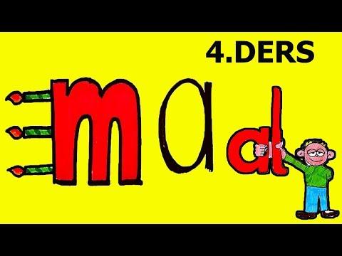 """4.DERS """" MA """" SESİ  EN KOLAY OKUMA YAZMA ÖĞRETİMİ"""