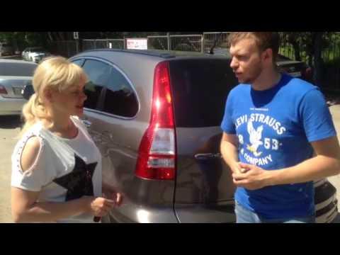 Татьяна из Новосибирска приобрела Honda CR-V ( отзывы о РДМ-Импорт )