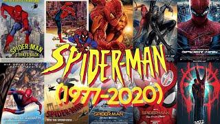 SPIDER-MAN ALL MOVIES (1977-2020) ||MOVIE LISTER|| #spiderman #movielister #allmovies
