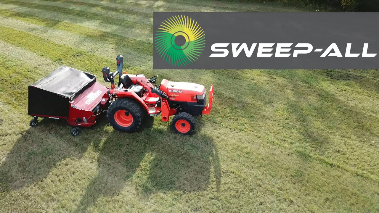 PTO Powered Commercial Turf Sweeper & Dethatch