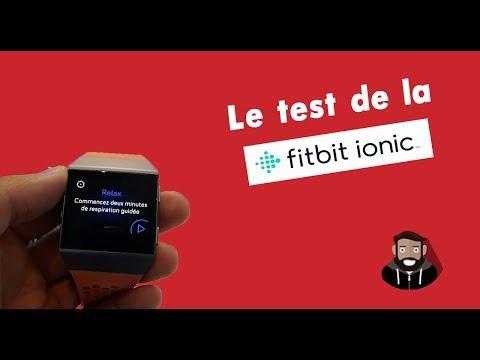 FITBIT IONIC : LA MONTRE CONNECTEE DERNIER CRI !