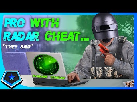 A PRO PLAYER WITH RADAR CHEAT |