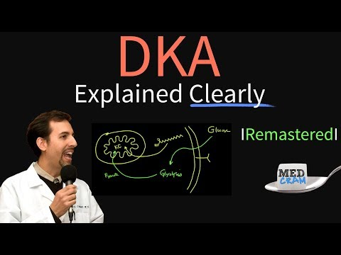 Diabetic Ketoacidosis (DKA) Explained Clearly Remastered - DKA Pathophysiology