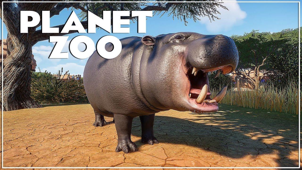 🦁 Dwergnijlpaard, Komodovaraan & Thomsongazelle | Nieuwe Dieren | Planet Zoo Deluxe versie |