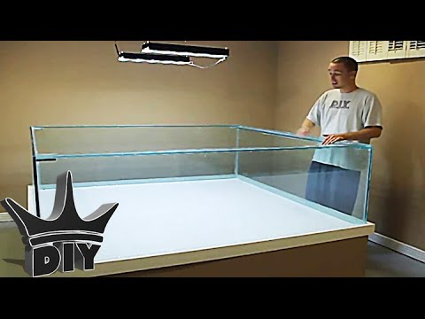 how to build a large aquarium 4 6 youtube ForHow To Build A Large Fish Tank