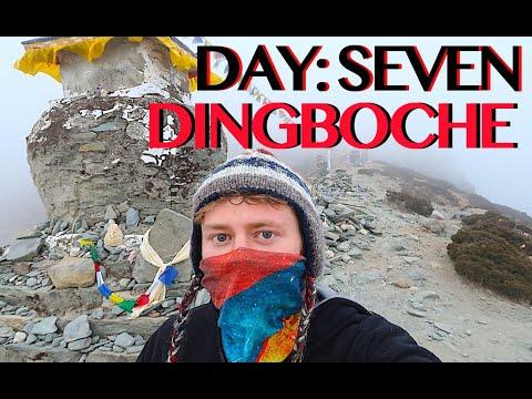 SOLO TREKKING EVEREST B.C. | DINGBOCHE | 2 Hour Trek | DAY SEVEN