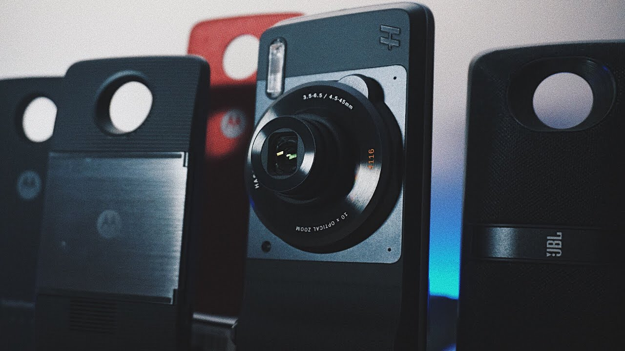 Testing Out All Moto Mods Available in 2017