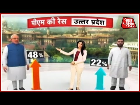 UP में भुआ-भतीजे का गठबंधन देगा Modi-Yogi को टक्कर ? Anjana Om Kashyap का Political Stock Exchange