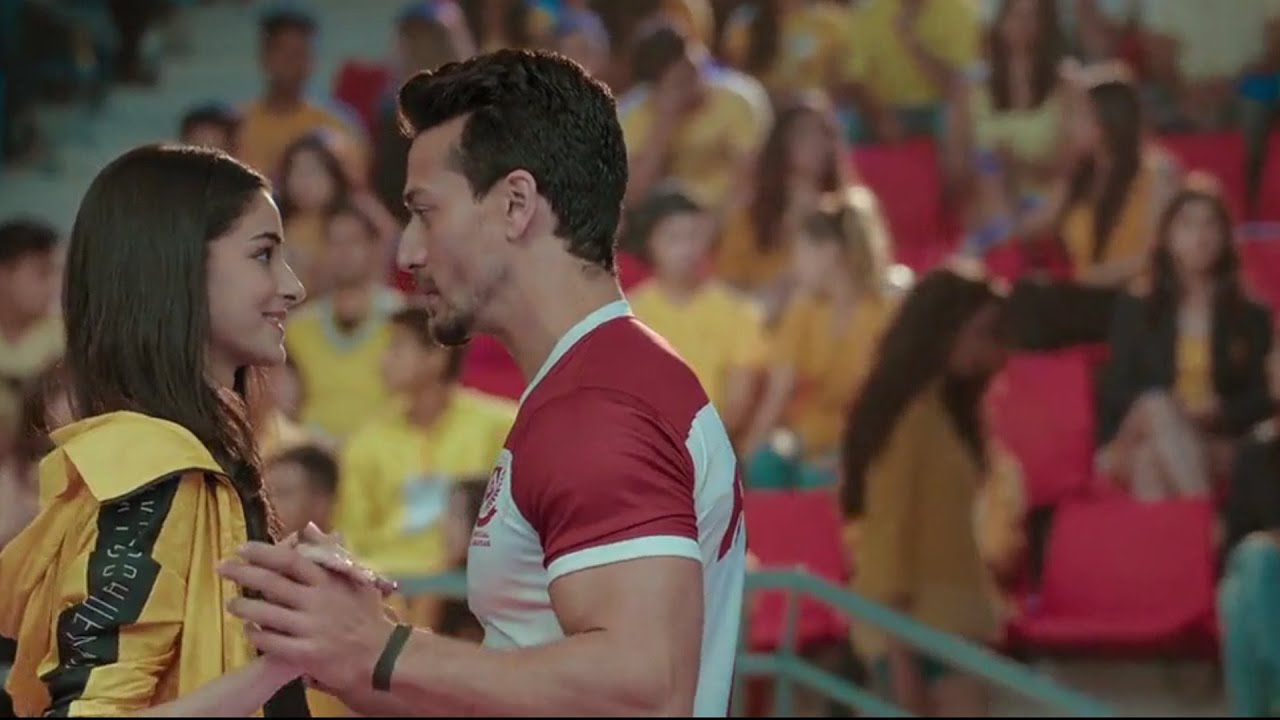 Download Ananya Pandey And Tiger Shroff Cute Moments In Student Of The Yearr 2