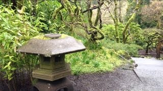 Beautiful Butchards Gardens Moss covered Japanese Garden in Victoria BC Part1