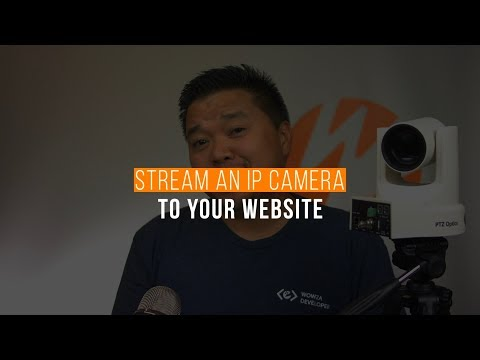 Stream An IP Camera To Your Website