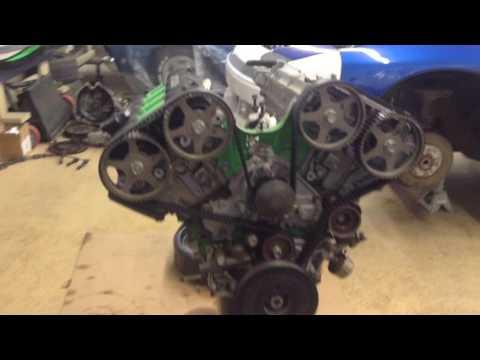 1992 Mitsubishi 3000GT VR4 Twin Turbo Engine breakdown ...