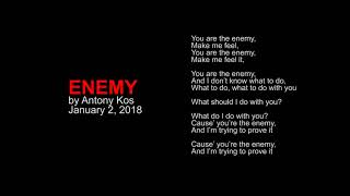 Antony Kos - Enemy (original demo)