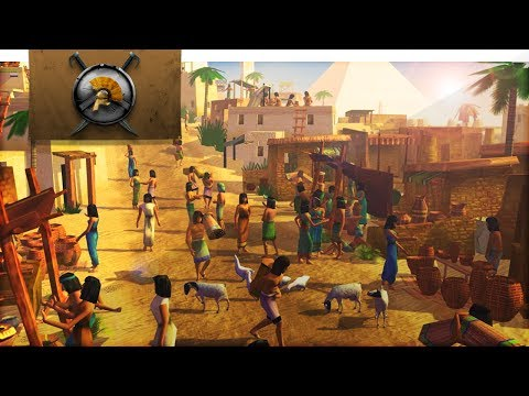MY FAVOURITE CITY BUILDING GAME! : Immortal Cities: Children of the Nile Gameplay