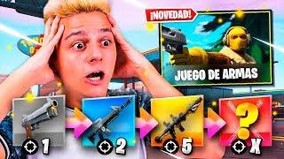 EL MINIJUEGO DE JUEGO DE ARMAS EN FORTNITE - Ampeter