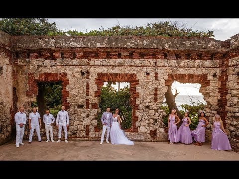 Puerto Rico Wedding.Anastasiia Vitalii S Puerto Rico Wedding At The Ruins