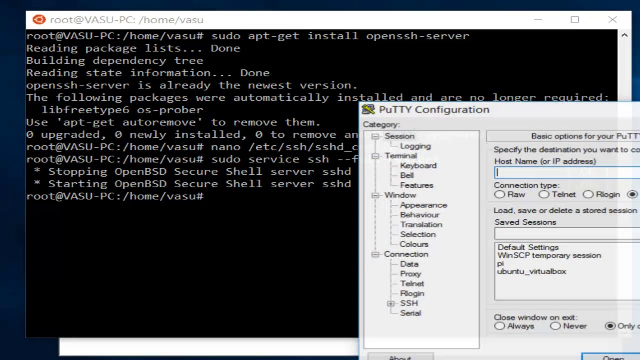 How to enable ssh server on WSL windows subsystem for linux