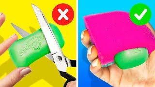 34 UNEXPECTED CLEANING HACKS TO SPEED UP YOUR ROUTINE