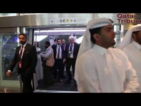 Hamad International Airport's passenger Monorail launched