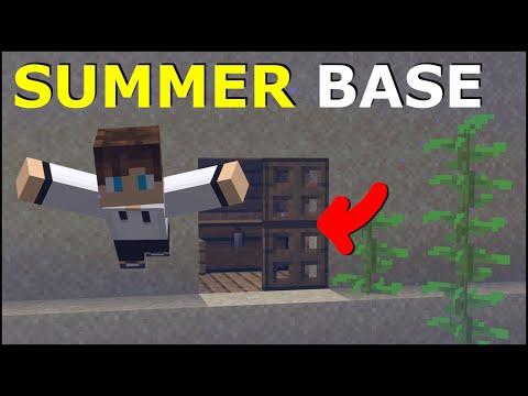 The BEST Summer Island In Minecraft!