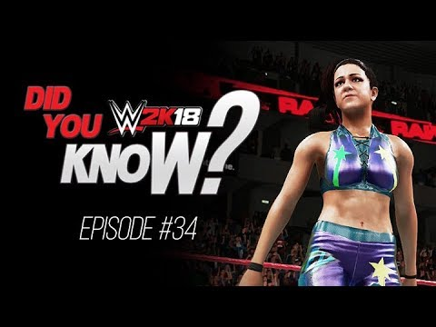 WWE 2K18 Did You Know?: New Top Rope Super Move, Never Lose A Finisher & More! (Episode 34)