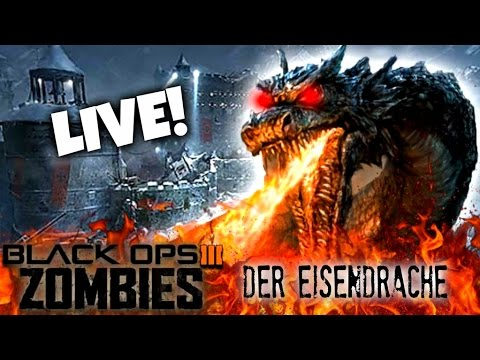 Black Ops 3 ZOMBIES: Der Eisendrache' LIVE GAMEPLAY!