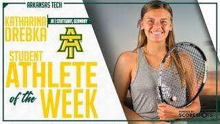 Arkansas Tech Student Athlete of the Week - Katharina Drebka