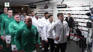 Tunnel Cam: Ireland v England