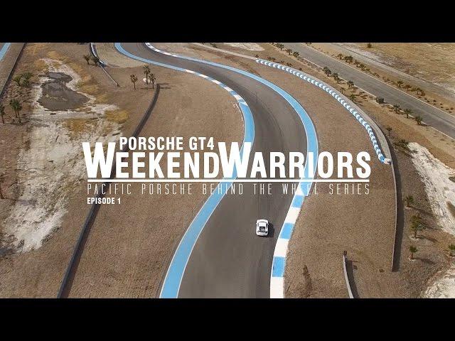 Porsche GT4 Weekend Warriors (Ep.1)