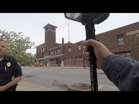 1st Amendment Audit Auburn, Indiana. Police And Sheriff  Building