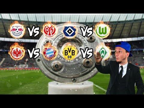 Bundesliga LIVE Konferenz - 15. Spieltag - FC Bayern, Borussia Dortmund, HSV