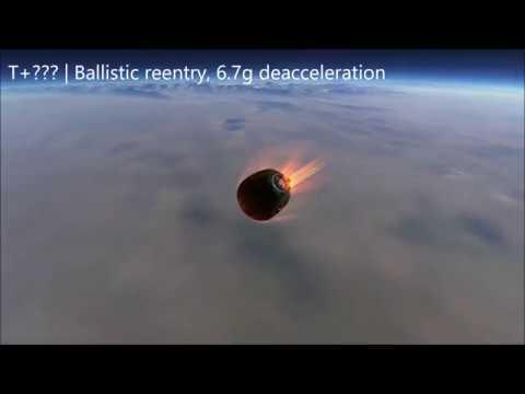 Soyuz MS-10 failure simulation in KSP RSS/RO