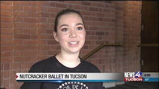 The Nutcracker Ballet features local ballet dancers