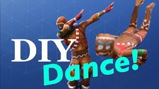 Fortnite Dance Gingerbread dance challenge in real life - Check this out!!!!