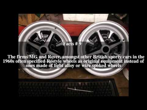 Rostyle wheel Top # 16 Facts