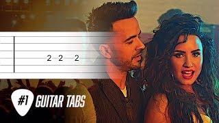 Luis Fonsi Demi Lovato Echame La Culpa Guitar Tab tutorial.mp3