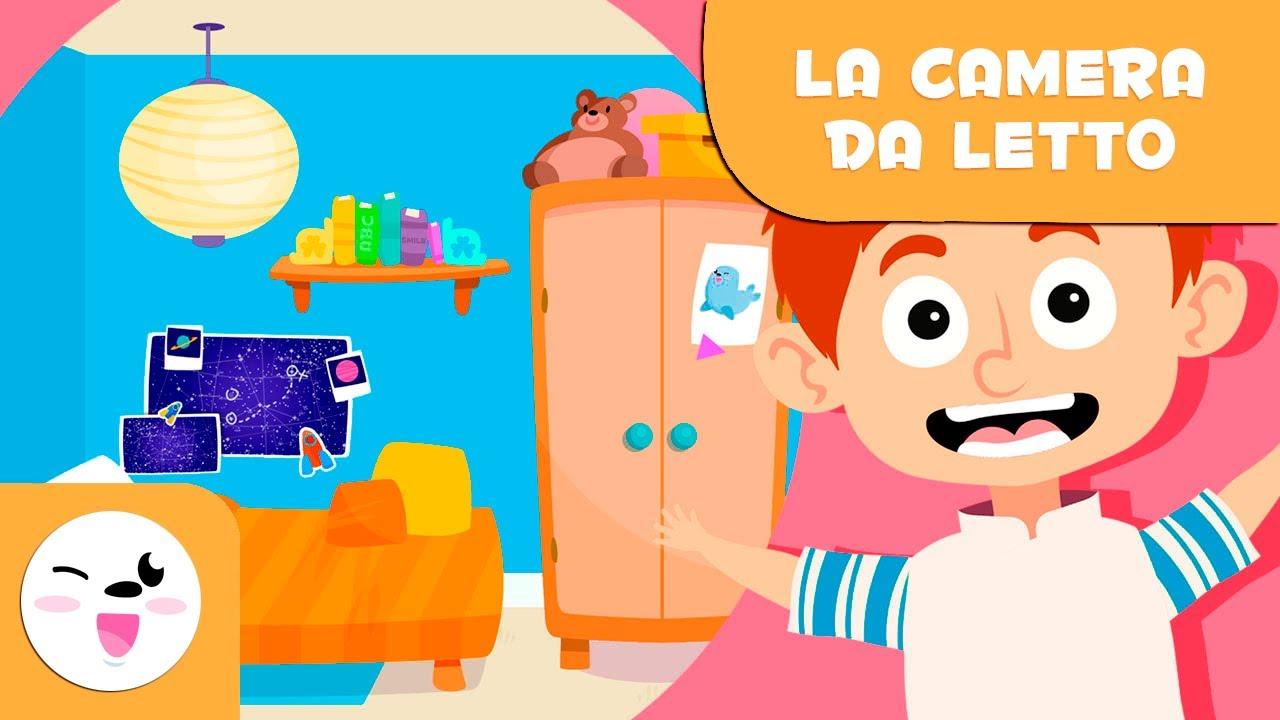 Vocabolario Della Camera Da Letto Per I Bambini Youtube