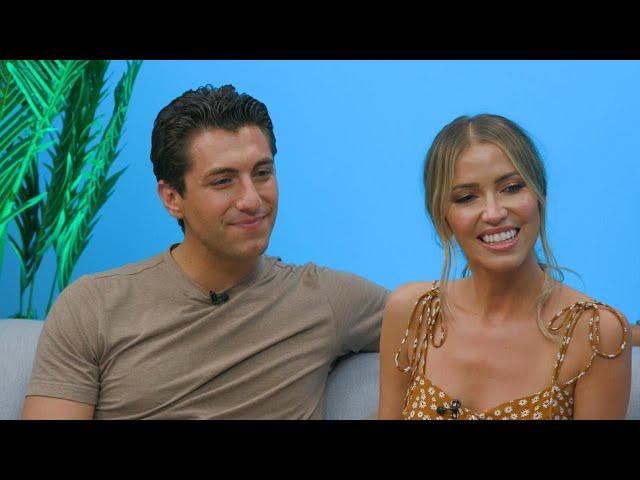 Kaitlyn Bristowe and Jason Tartick (FULL INTERVIEW)