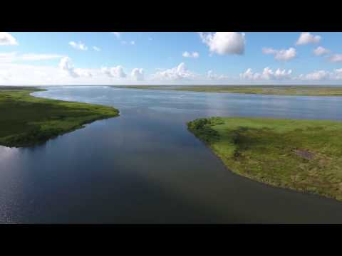 Excalibur Aircraft:  Prettiest footage to date - Marsh by drone