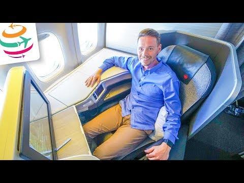 Air Canada Business Class 777-300ER YYZ-FRA   GlobalTraveler.TV