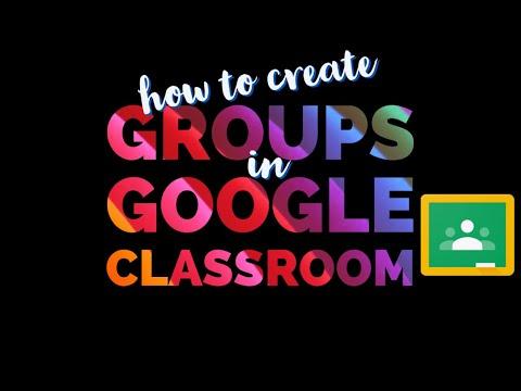How to create Groups in Google Classroom | Teacher's Corner