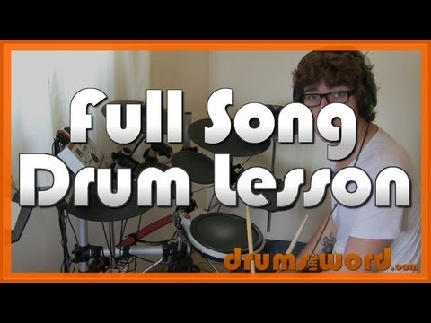 ★ Boulevard Of Broken Dreams Green Day ★ Drum Lesson PREVIEW  How To Play Song Tre Cool