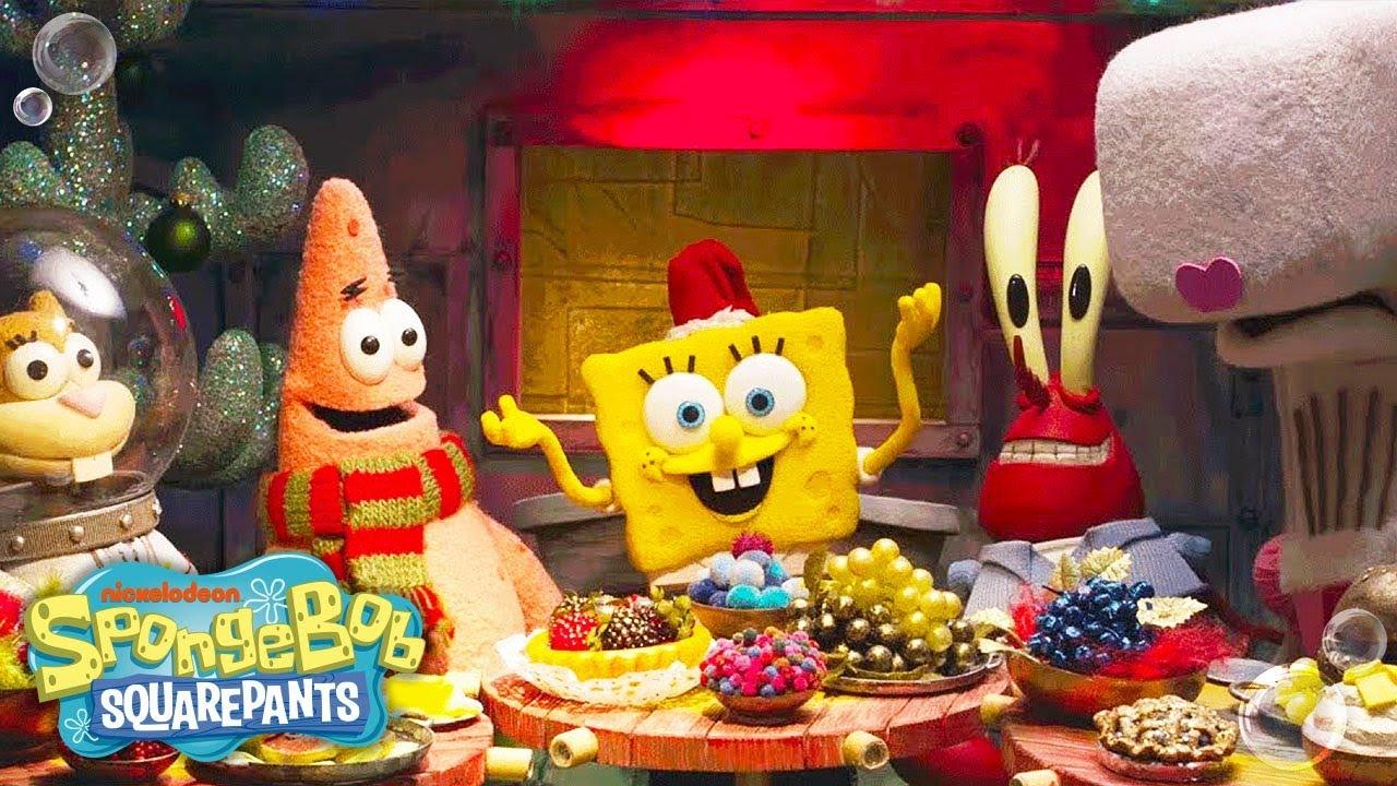 spongebob squarepants its a spongebob christmas super speedy special recap nick youtube
