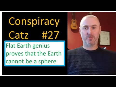 Flat Earth genius proves the Earth cannot be a sphere, using a globe! thumbnail