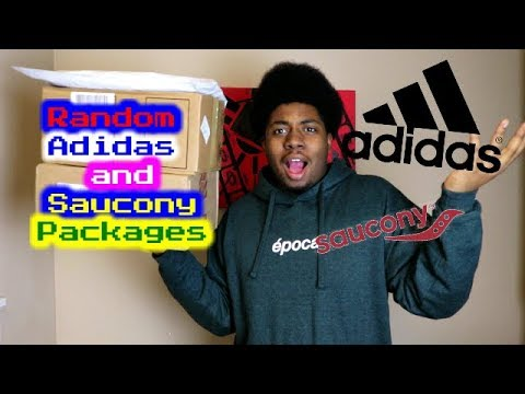 Random packages from Pharrell, Adidas and Saucony !?!?!?!?!?!